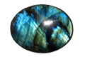Spectrolite gemstone