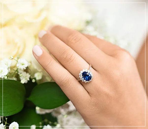 gemstone engagement rings arlington